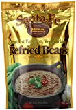 Santa Fe Bean Company Instant Fat Free Vegetarian Refried Beans 7.25-Ounce (Pack of 8) Instant...