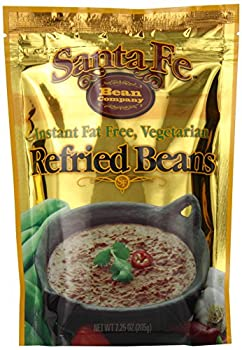 Santa Fe Bean Company Instant Fat Free Vegetarian Refried Beans 7.25-Ounce  Pack of 8  Instant Vegetarian Refried Beans  All Natural  High in Fiber  Fat Free  Gluten-Free