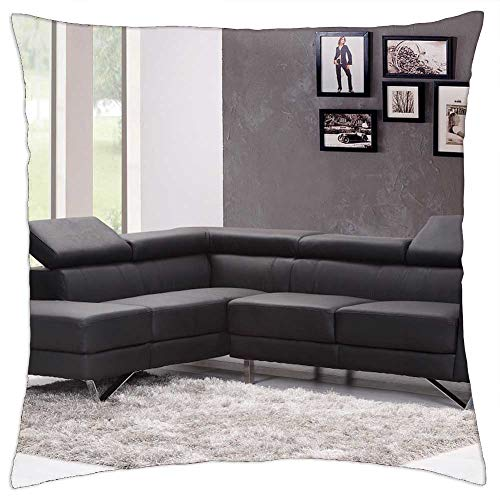 LESGAULEST Throw Pillow Cover (16x16 inch) - Sofa Couch Living Room Home Interior Carpet 1