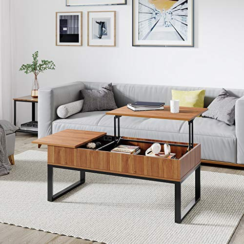 10 Best dail coffee table with double lift top Reviews