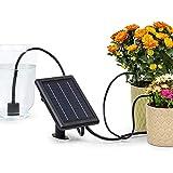 blumfeldt Greenkeeper Solar - Impianto d'Irrigazione, Pannello Solare, Batteria: 1500 mAh, Ecologico, Fino a 40 Piante, Filtro per Particole, velocità di Flusso: 2 l/min, Facile da Installare