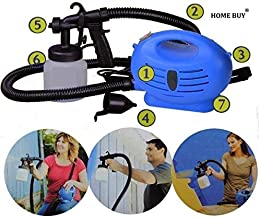 HOME BUY Paint Zoom Electric Portable Spray Painting Machine, 37x24x21 cm, Blue