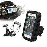 iPhone ケース バイク 防水 防塵 マウント キット ナビ GPS スマホ ホルダー ハンドル 取付 セット NV-BAG05-SET1
