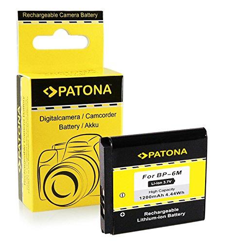 Batteria BP-6M | BP6M per Nokia 3250 | 3250 XpressMusic | 6151 | 6233 | 6234 | 6280 | 6288 | 9300 | 9300i | N73 | N73 Music Edition | N77 | N93 | N733 e più… [ Li-ion, 1200mAh, 3.7V ]