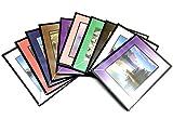 Lotto 10 album per 400 foto 10x15 cm . ( 1 album x 40 foto) - set di 10 pezzi , colori assortiti, copertina personalizzabile.