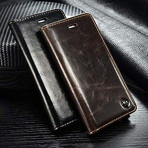 FUNCASE Luxus Brieftasche Leder Magnetschnalle Flip Hülle für Samsung Galaxy S20/S20 Plus/S20 Ultra/Note10/Note 10 Plus…