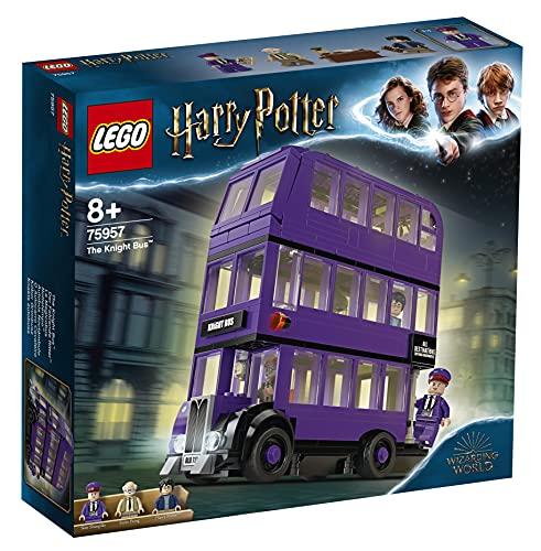 LEGO HarryPotter Nottetempo, Set da Collezione con Autobus Giocattolo a 3 Piani con Minifigure, 75957