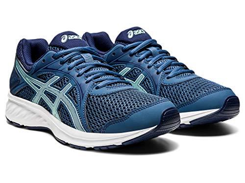 ASICS Women's Jolt 2 Running Shoes, 8.5, Grand Shark/Fresh ICE