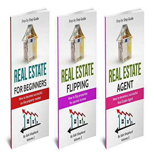 Real Estate Investing: 3 Manuscripts audiobook cover art