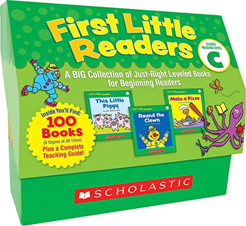 First Little Readers Guided Reading Level C A Big Collection Of Just Right Leveled Books For Beginning Readers