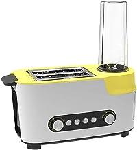 CAIJINJIN Machine à cuisson Entièrement automatique multifonctions Petit déjeuner Grille-pain Machine à jus Machine Sandwi...