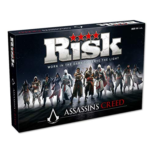 Winning Moves- Assassins Creed Risk Board Game, 032704