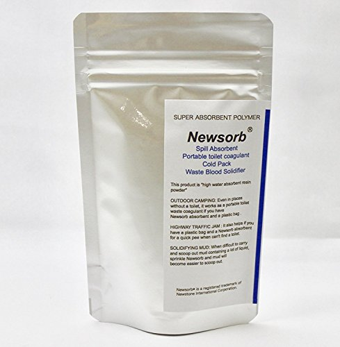 Newsorb 35 Grams Sodium Polyacrylate - Superabsorbent Diaper Polymer