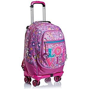 51ZW+VBA09L. SS300  - Trolley Backpack Seven Jack 4WD Love Songs