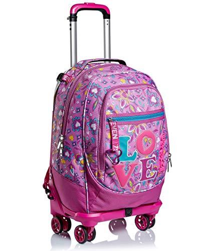 51ZW+VBA09L - Trolley Backpack Seven Jack 4WD Love Songs