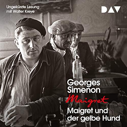 Maigret und der gelbe Hund cover art