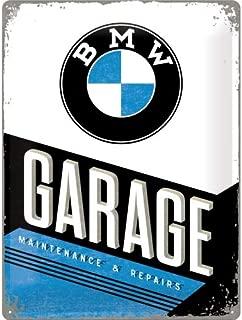 BMW Garage large embossed metal sign 16