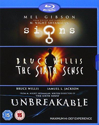 Sixth Sense/Unbreakable/Signs - M. Night Shyamalan Collection (3 Blu-Ray) [Edizione: Paesi Bassi] [Edizione: Regno Unito]