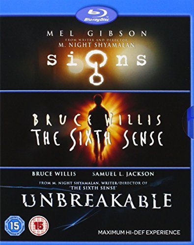 M Night Shyamalan: Signs / Sixth Sense / Unbreakable [Reino Unido] [Blu-ray]