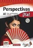 Perspectivas ¡Ya! - Spanisch für Erwachsene - Aktuelle Ausgabe - A1: Kurs- und Übungsbuch mit Vokabeltaschenbuch und Lösungsheft - Mit drei CDs sowie einer DVD