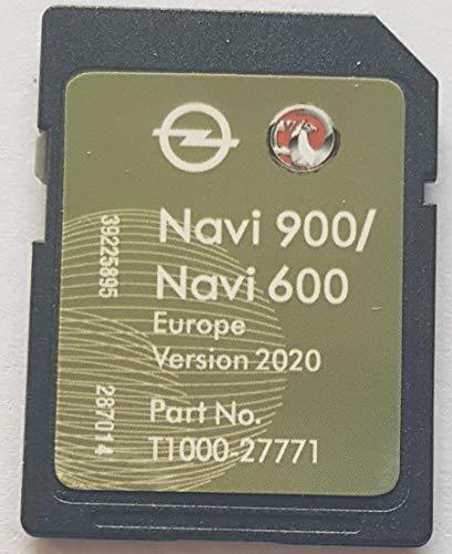 SD-Karte GPS Opel NAVI600 NAVI900 Europe 2020