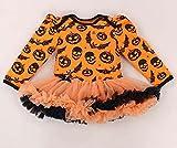 Disfraces de Halloween Lindo bebé Regalos de los niños de Manga Larga de los Mamelucos del cordón del Vestido del tutú de Mono Bebe recién Nacido Partido for la Ropa (Color : 3, Kid Size : 3M)