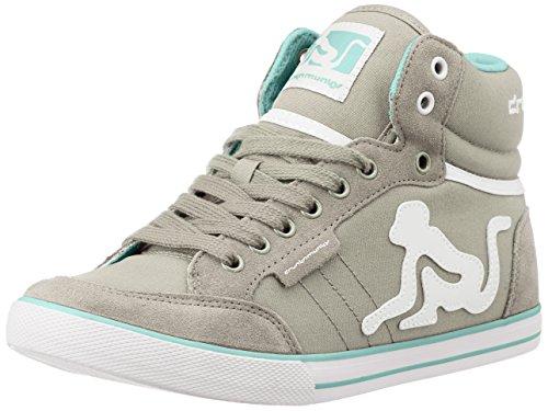 DrunknMunky , Herren Sneaker beige beige, Grau - grau - Größe: 41