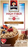 Quaker High Fiber Instant Oatmeal - Maple & Brown Sugar (2 pack)
