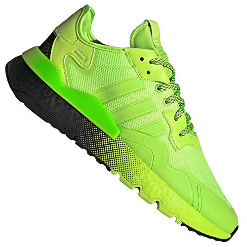 adidas Originals Nite Jogger Sport Shoes Trainers EF5414 Neon Green Green Size: 8 UK