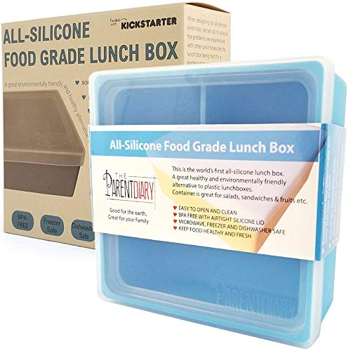 Our #6 Pick is the The Parentdiary Eco Lunch Box with Divider