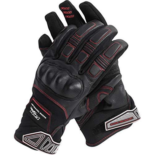 FLM Motorradhandschuhe lang Motorrad Handschuh Sports Handschuh 2.0 schwarz L, Herren, Sportler, Ganzjährig, Kunststoff