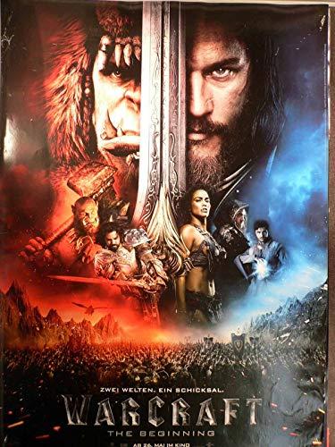 Warcraft: The Beginning - Teaser - Travis Fimmel - Filmposter A1 84x60cm gerollt