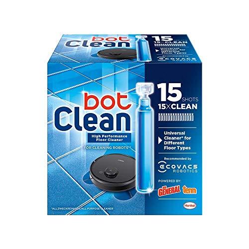 BotClean Bodenreiniger-Flüssigkeit 15 x 18ml für Saugroboter mit Wischfunktion