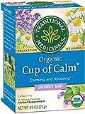 Traditional Medicinals Organic Cup of Calm Tea, 16 Tea Bags