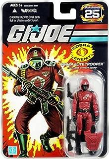 G.I. Joe 25th Anniversary: Crimson Guard (Cobra Elite Trooper) 3.75 Inch Action Figure