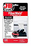 "J-B Weld FiberWeld 2"" Pipe Repair Cast 2x60 Inch - High Strength Adhesive Fiberglass Wrap - White (38260)"