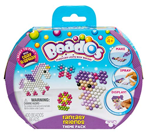 Beados - Pack Temático S8 Fantasy Friends (Famosa 700014681) , color/modelo surtido