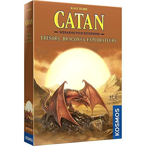 CATAN - Extensión Trésores, dragones y exploradores (FR)