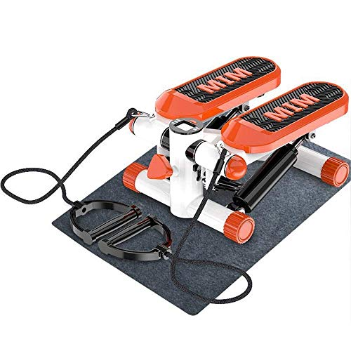 LY88 Fitness Indoor Aerobic Stap Platforms Mini Stepper Stepping Benen Arm Dij Oefening Fitness Toner Weerstand Omlaag Oefening Stepper (Kleur : Grijs, Maat : 38x30x20cm)