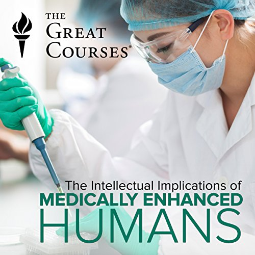 Medically Enhanced Humans audiobook cover art