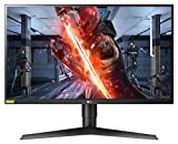 LG 27GL850 UltraGear Gaming Monitor 27' QuadHD Nano IPS 1ms HDR, 2560x1440, G-Sync Compatible e AMD FreeSync 144 Hz, HDMI 2.0, Display Port 1.4, USB Hub, Uscita Audio, Stand Pivot, Flicker Safe, Nero
