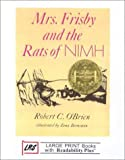 Mrs. Frisby and the Rats of Nimh (Large Print Cornerstone Ser)