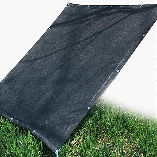 2X4m La cortina de Sun panel de la pantalla de privacidad con ojales for toldo del patio al aire libre ventana de la tapa o Pergola Gazebo (Negro) (Tamaño: 3m x 5m) Tamaño: 8m x 8m ( Size : 5m x 7m )