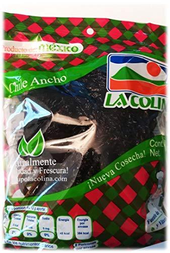 Ancho Chili ganz (getrocknet 100g)   Der authentische Geschmack Mexikos
