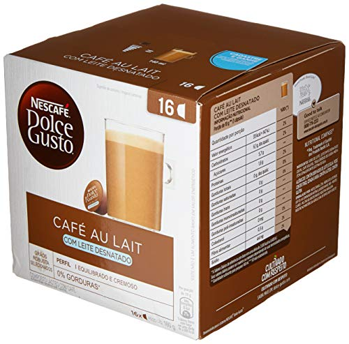 Nescafé Dolce Gusto Café au lait Desnatado 16 Capsulas 160g
