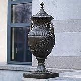 Gartentraum Elegante ánfora de Bronce para jardín - Victoria