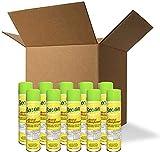(Made in USA) 75% Ethanol Alcohol 2K Aerosol Spray 12 oz (12-Pack)