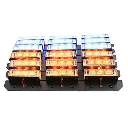 XKTTSUEERCRR 54 LED Emergency Vehicle Strobe Lights Bars