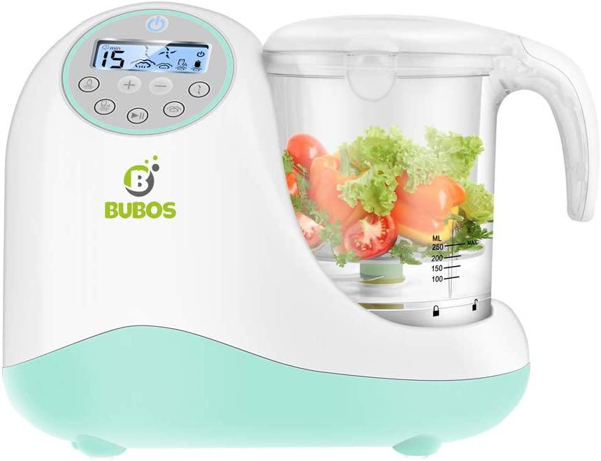 All items free shipping Bubos 5-in-1 Smart Discount is also underway Baby Food Maker Blender C Cooker Steam with