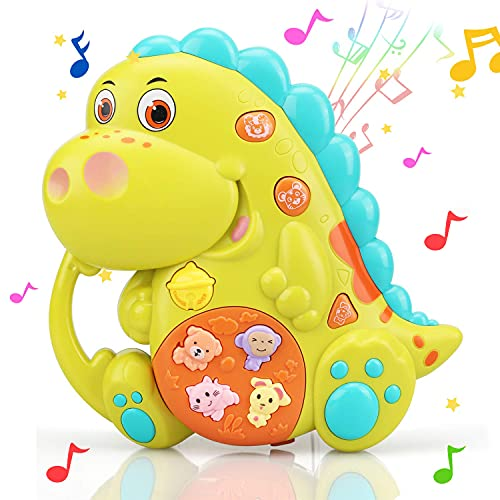 STEAM Life Educational Dinosaur Toy - Baby Crib Toy - Light Up Toy - Musical Toy for Babies and Toddlers - Toys for 2 Year Old Boys - Toys for 3 Year Old Girls - Perfect Toys for Toddlers